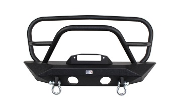 Manowar JK Front Winch Bumper with Grille Guard