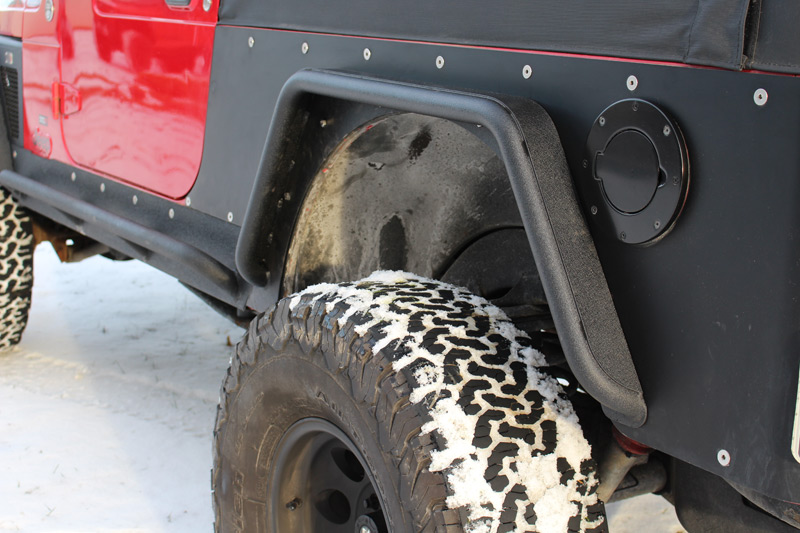 Fishbone Front And Rear Tube Fender Set